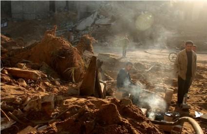 Židovski naseljenici zapalili džamiju na Zapadnoj obali