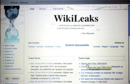 WikiLeaks poziva korisnike na otvaranje