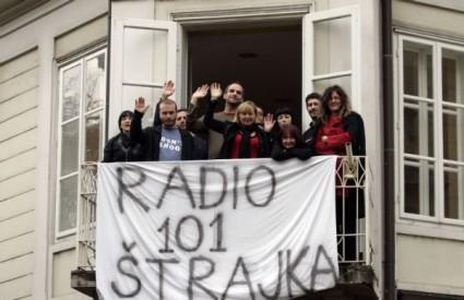 Radio 101 štrajka