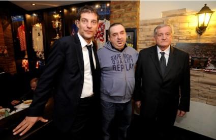 Slaven Bilić, Kruno Grlević i Zorislav Srebrić