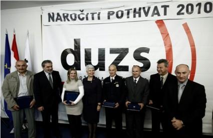 Premijerka Jadranka Kosor s nagrađenima