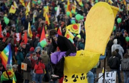 Prosvjed protiv nuklearnog otpada