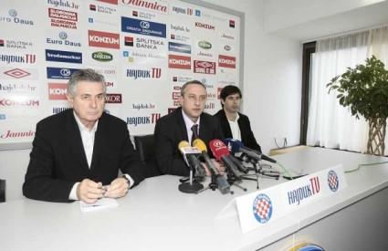 Vučević ostaje trener Hajduka do kraja polusezone