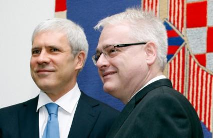 Tadić u društvu Josipovića