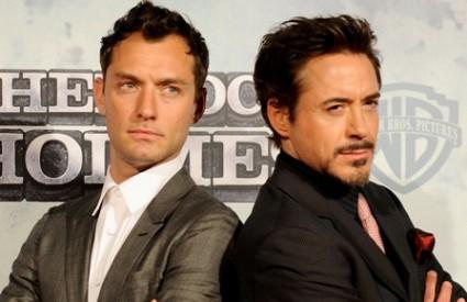Jude Law i Robert Downey Jr