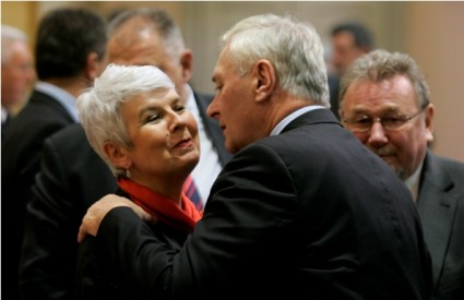 Jadranka Kosor i Josip Friščić