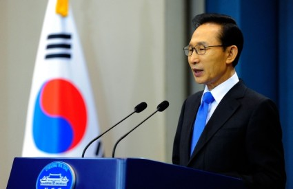 Južnokorejski predsjednik Lee Myung-bak