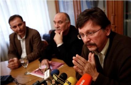 Mladen Novosel (SSSH), Ozren Matijašević (HUS), Vilim Ribić (MHS)