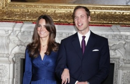 Kate Middleton i princ William