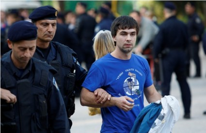Policija prati navijače Zenita