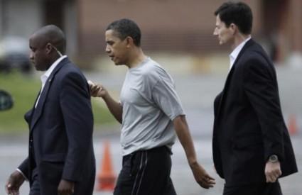 Barack Obama ozlijedio se igrajući košarku