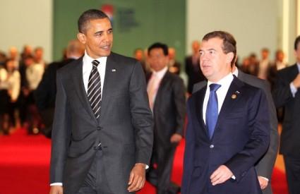 Barack Obama i Dmitrij Medvedev