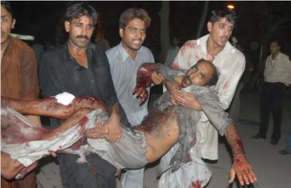 Žrtva terorističkog napada u Pakistanu