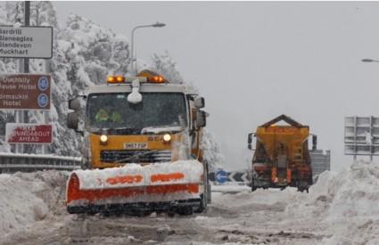 Snijeg u Ujedinjenom Kraljevstvu