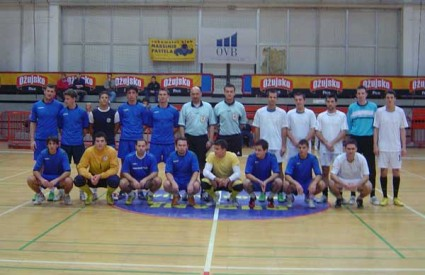 Nogometne ekipe Grafičkog i Kineziološkog fakulteta