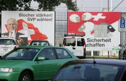 Kampanja protiv imigranata u Švicarskoj