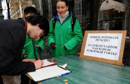 Zeleni su sakupljali potpise