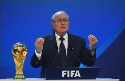 Joseph S. Blatter, predsjednik FIFA-e