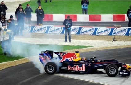 Sebastian Vettel je opet u prvom redu