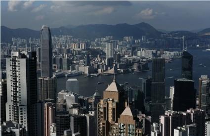 Panorama Hong Konga