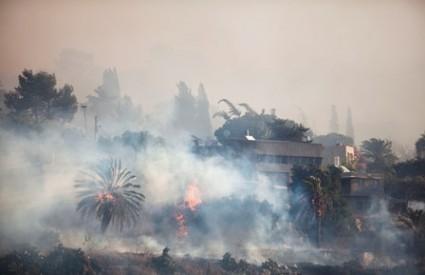Požar u Izraelu