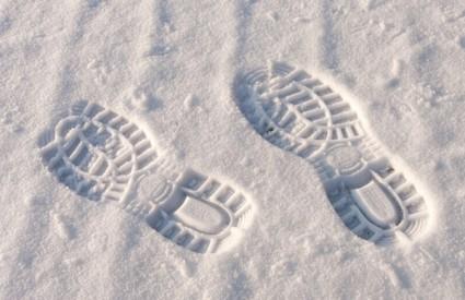 Snijeg će nam ponovno stići u ponedjeljak