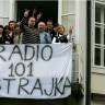 HND dao punu potporu novinarima Radija 101