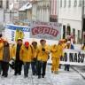 Dvjesto radnika Tvornice ulja Čepin prosvjeduje u Zagrebu