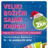 Veliki božićni sajam knjiga - naslovi već od 2 kune
