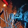 Na Trgu bana Jelačića upaljena prva svijeća na velikoj menori