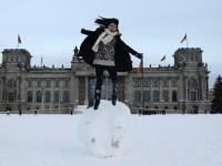 Europa pod snijegom