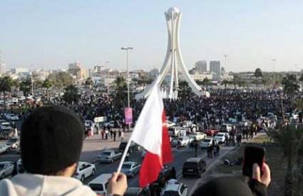 Manama preplavljena prosvjednicima