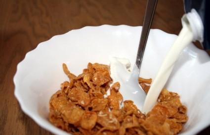 Žitne pahuljice s mlijekom - najbolji doručak