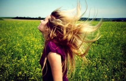 Lijepa kosa na prirodan način