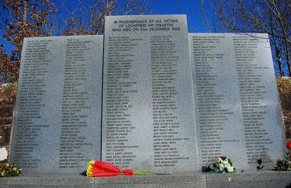 Lockerbie, spomenik