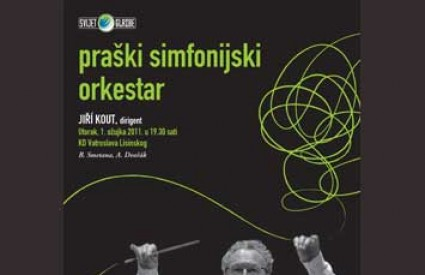 Praški simfonijski orkestar s dirigentom Jiri Koutom