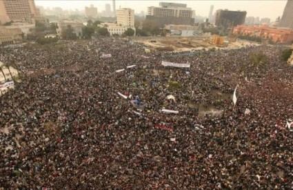 Marš milijuna ljudi, Tahrir trg u Kairu