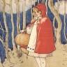 Crvenkapica u šetnji šumom