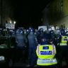 Pernar i prosvjednici okupirali Cvjetni trg