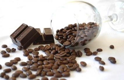 Umjereno s kavom i čokoladom