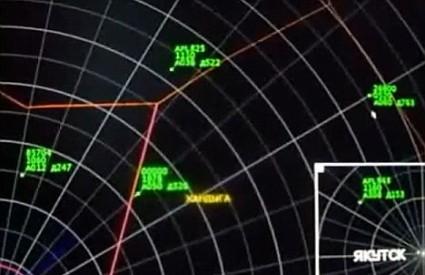 NLO na radaru nalazi se najbliže žutim slovima