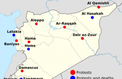 Prosvjedi u Siriji