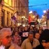 Malobrojni prosvjednici kratko prošetali gradom