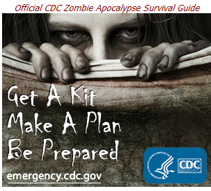 CDC je izdao priručnik za slučaj invazije zombija :)