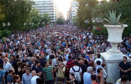 Grci se grčevito bore za svoja prava