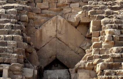 Glavni ulaz u Veliku piramidu