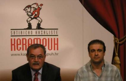 Duško Ljuština i Hrvoje Ivanković predstavljaju program