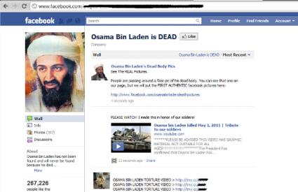 Čuvajte se internetskih prijevara temeljenih na smrti Osame bin Ladena