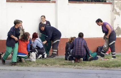 U eksploziji u osijeku ozlijeđeno pet ljudi