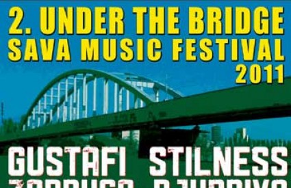 2. Under the bridge Sava Music Festival